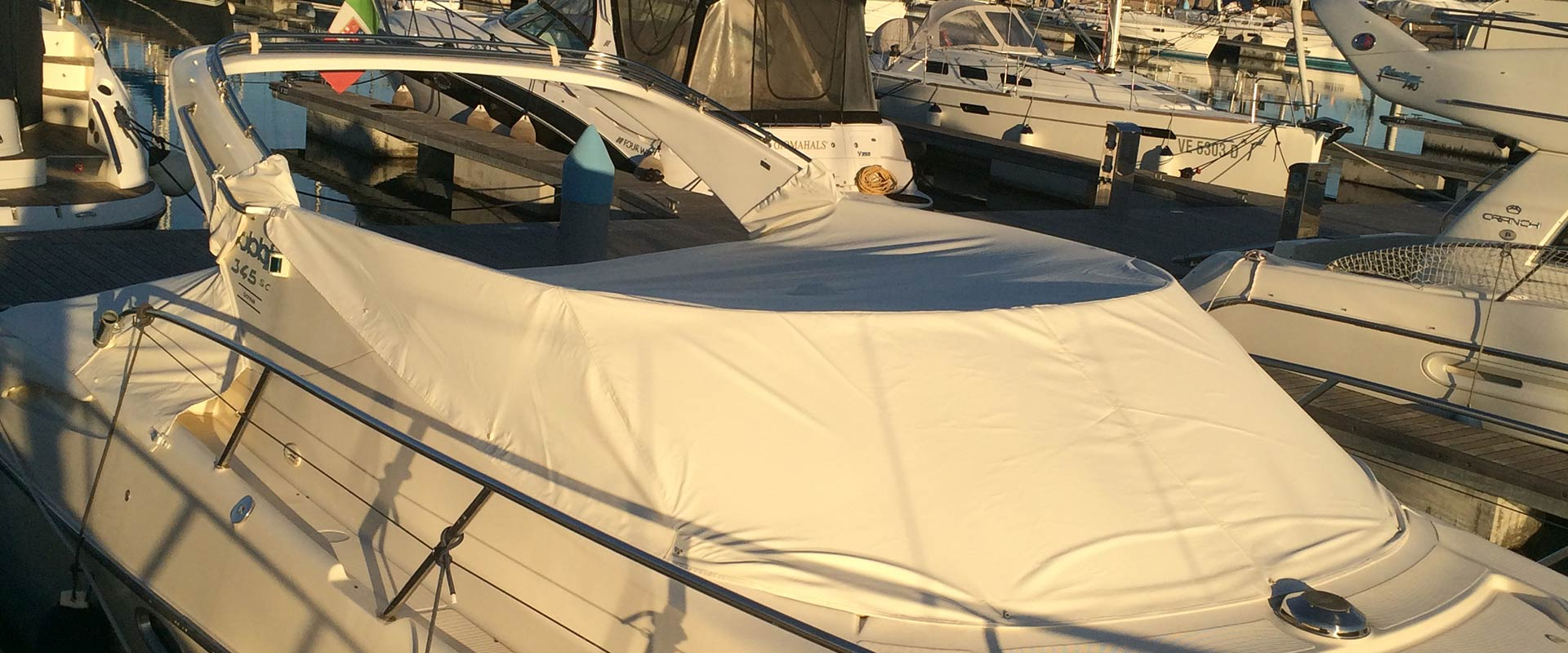 quality covers for motor boats and sailing